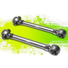 2PC LOWER REAR TOE CONTROL ARM/BAR/ROD 03-12 VW GOLF/GTi Mk5/Mk6 Typ1K/5K SILVER
