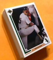 50) SAMMY SOSA Chicago White Sox 1991 Upper Deck Baseball Card #265 LOT