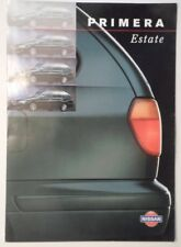 NISSAN PRIMERA ESTATE orig 1998 UK Mkt Sales Brochure