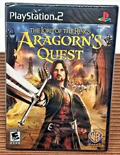 Lord of the Rings ~ Aragorn's Quest PS2 Playstation 2 New & SEALED