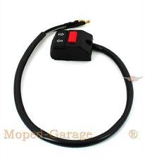 Kreidler Florett RS RMC Moped Mokick Blinker Schalter Hupe original + Kabel Neu