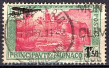 Monaco - 1933 - Timbres de 1924 surch  - PA 1 - Oblitéré - Used