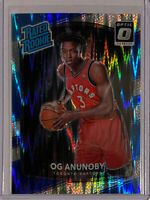 2017-18 OPTIC OG ANUNOBY FLASH HOLO PRIZM RATED ROOKIE RC #178 SHOCK RAPTORS SP