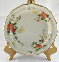 Vintage Mikasa Heritage F2010 Capistrano Salad Plate Beautiful Birds Flowers