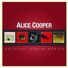 """ALICE COOPER """"ORIGINAL ALBUM SERIES"""" 5 CD NEUF"""