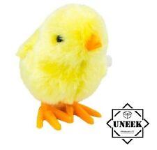 HOPPING CHICK CLOCKWORK TOY EASTER Kids Birthday Bag Filler Toys Gift GM1900 UK