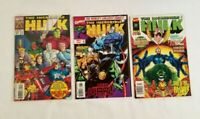 THE INCREDIBLE HULK Lot Of 3 Marvel Comics 1997 Excellent Condition
