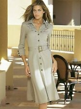 NEU ATTRAKTIV SHIRTKLEID mit STRASS + APPLIKATIONEN GR 40 TOGETHER stein *789836