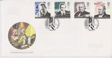 UNADDRESSED GB ROYAL MAIL FDC 1995 COMMUNICATIONS SET BUREAU PMK