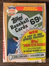 1987 TOPPS Cello Pack DWIGHT GOODEN ALL STAR Card on  (TOP) G7105118