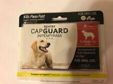Sentry Capguard (nitenpyram) Dog Oral Flea Control Medication 25 lbs + 02/2020
