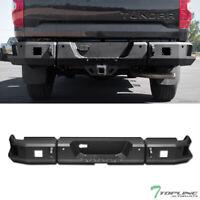 Topline For 2014-2019 Toyota Tundra RT Style Modular Steel Rear Bumper - Black