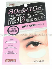 96 PAIRS FOLI  EYELID STICKERS TAPE PINK PACK A961 NATURAL & COMFORTABLE CONTOUR