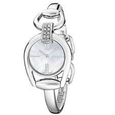 Reloj De Cuarzo Gucci YA139504 Blanco Para Mujer De Freno