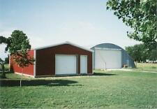 SIMPSON Steel Garage 30x40x9 garage Auto Shop Metal Building