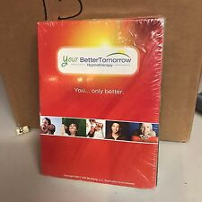 YOUR BETTER TOMORROW HYPNOTHERAPY PROGRAM CD'S NEW SEALED
