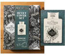 HARRY POTTER THE MARAUDERS MAP REVERSIBLE SINGLE DUVET COVER SET Primark