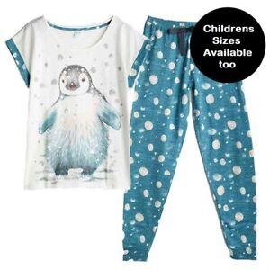 Ladies Penguin PJs pyjamas by Avon sizes 8-22 NEW sealed in bag