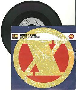 """Jolly Roger, Acid Man, G/VG  7"""" Single 999-595"""