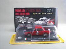LANCIA FULVIA HF 1966 1:43 Die cast model WORLD RACING CAR COLLECTION delprado