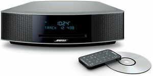 Bose Wave Music System IV CD Player, AM/FM Radio ( Platinum Silver ) Brand New