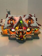 Disney Toontown Christmas Village - Mickey's House - Lighted House