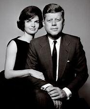 PRESIDENT JOHN F KENNEDY & JACKIE 8X10 PHOTO PICTURE JFK US USA
