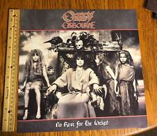 Ozzy Osbourne/ Promo Flat/ 1988/ No Rest For The Wicked/ Zakk Wylde/ Black Sabba