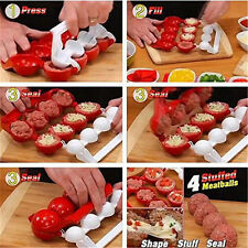 ABS Plastic Meat & Fish Balls Burger Maker Mold Home Kitchen Cooking Tools
