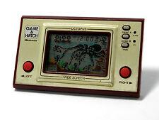Nintendo Game & Watch Wide Screen Octopus OC-22 MIJ 1981 Great Condition_14