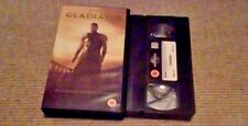 Gladiator UK PAL VHS VIDEO 2000 Russell Crowe Richard Harris Ridley Scott
