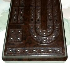 1930s Vintage rare Bakelite Cribbage Board made in England