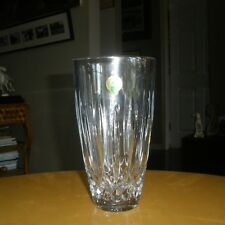 NWOB Waterford Lismore 60th 7-Inch Crystal Vase, Never in Use.