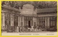 cpa 04 - GRÉOUX les BAINS (Alpes de Hte Provence) Le CASINO Animé Tenniswoman