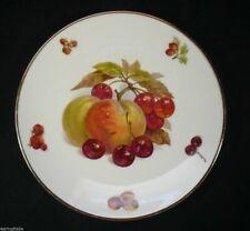 "Vintage Peaches & Grapes 7¾"" Salad Fruit Plate Mitterteich Bavaria Germany"