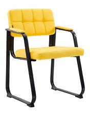 Besucherstuhl Canada B Kunstleder Farbe gelb #152374807