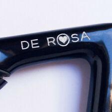 "3T 3TTT DE ROSA QUILL STEM 120mm 1"" 26.4mmVINTAGE '80s black attacco manubrio"