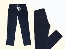dunkelblaue weiche Mädchenhose Cordhose Hose Kord Feincord  Gr.152 NEU