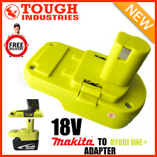 Makita Battery Adapter to Ryobi 18v One+ Works with Ryobi 18v One+ Tools