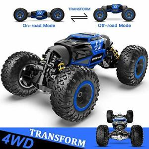 BEZGAR Large Remote Control/RC Car/Monster Truck 4x4 4WD Kids Off Road 1:14