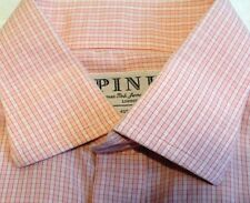 THOMAS PINK Jermyn Street London 100% Cotton Dress Shirt 16-34 - EUC