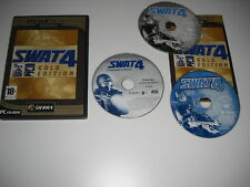 SWAT 4 GOLD Pc Cd Rom BS  inc STETCHKOV SYNDICATE Add-On Expansion Pack S.W.A.T.
