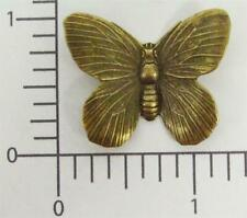 Victorian Butterfly Brass Jewelry Finding 35333 2 Pc Brass Oxidized