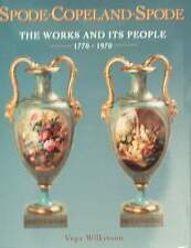 BOOK/GUIDE : SPODE COPELAND SPODE 1770-1970 antique porcelain,earthenware,parian