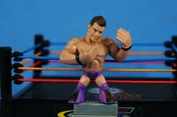 Mattel WWE Wrestling Rumblers Figure Figurine Elite The Miz Cake Topper K924