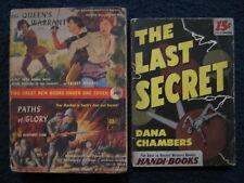 The Last Secret(1945)/Paths Of Glory-Giant -Paperbacks