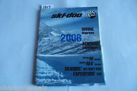 2008 Bombardier Ski Doo RF / REV / Skandic / Expedition Wiring Manual OEM