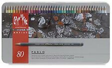Caran D'ache Pablo Coloured Pencil 80 Colour Tin