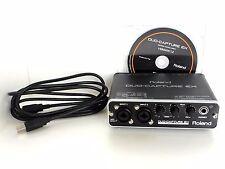 Roland Duo Capture EX UA-22 USB Audio/MIDI Interface W/FireWire UA22 *0620