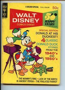 Walt Disney Comics Digest #44 Barks 1973 G